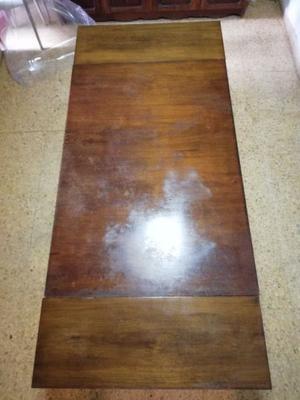 vendo mesa de madera extensible