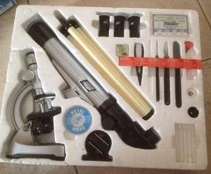 Juego Completo De Microscopio Y Telescopio