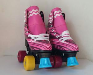 Patines NUEVOS 4 Soy Luna c/Luces Talle 32