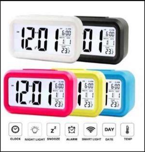 Reloj Despertador Función Snooze Light !colores Divertidos