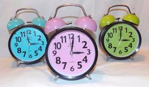 Reloj Despertador Retro Con Campanilla Y Luz ! Oferton