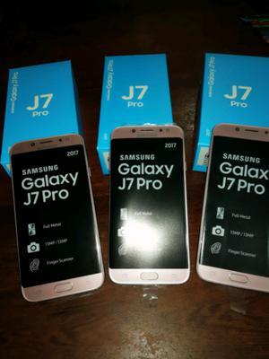 SAMSUNG J7 PRO 32GB ROSA UNICAS 3 UNIDADES ORIGINALES Y