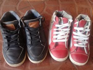 vendo zapatillas niño numero 31 marca cheecky y basto buen