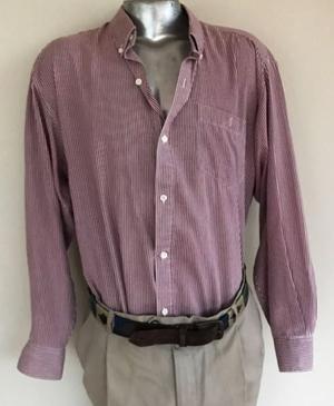 Camisa hombre rayas. Usada