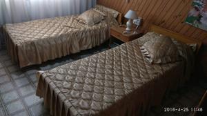 Juego de camas de 1 plaza más mesita de luz