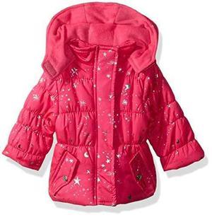 Pink Platinum Campera Puffer Bebe Niñas  Y 24 Meses