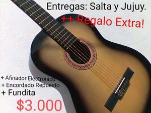 SALTA/GUITARRAS CRIOLLAS NUEVAS A ESTRENAR..
