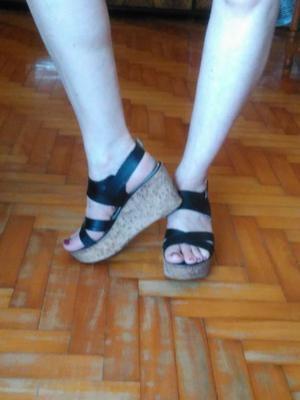 Sandalias de cuero Nª 39