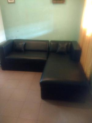 Sillon sofá esquinero tres cuerpo