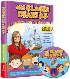 Libro: Mis Clases Diarias Ciencias Sociales 1º Ciclo + Cd