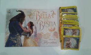 Vendo lote de 50 sobres llenos de figuritas de la Bella y la