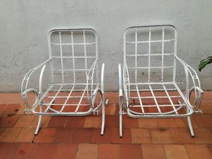 Vendo sillones antiguos !!