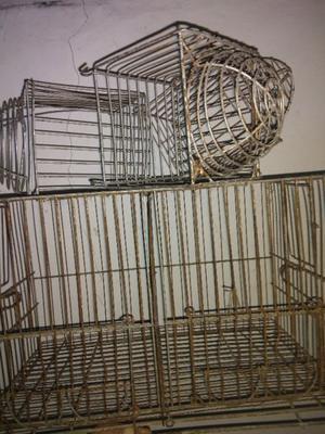 jaula para cria de canarios doble