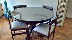 Mesa extensible en algarrobo en rosario m s posot class for Aberturas algarrobo rosario