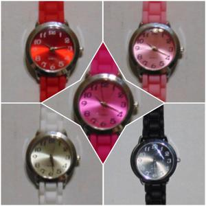 Relojes Silicona Mujer