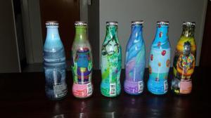 6 Botella De Coca Cola- Coleccion Artistas