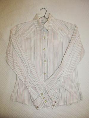 Camisa rayada de mujer - Talle S - $250