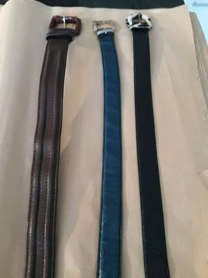 Cintos de mujer prune varias marcas (3) usados y nuevo