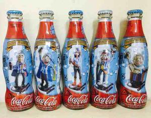 Colección Coca Cola Minihinchas De Argentina
