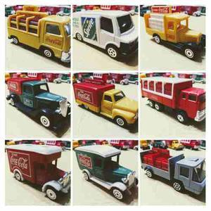 Colección De Camiones Coca Cola - Lote De 12 Camiones