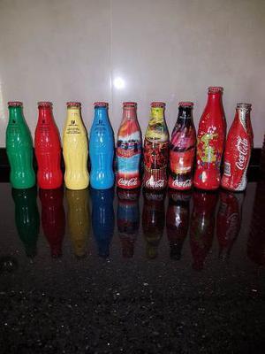 Colecciones Botellas Coca Cola Un Color Una Causa