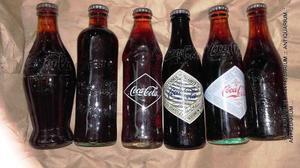 Juego De 6 Botellas Llenas Coca Cola 120 Aniversario