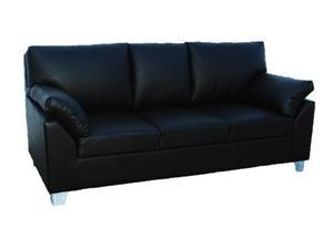 Sillon Sofa Living 3 Cuerpos Tapizado Chenille Premium