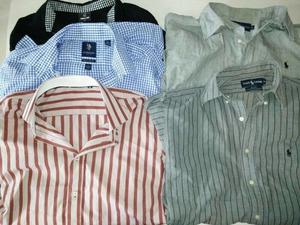 Vendo!! 5 Camisas, 1 Campera, talles L, y 1 Jeans talle 38