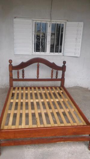 Vendo cama de 2 plazas exelente estado!!