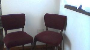 sillas de pana bordo