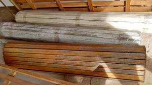 Persianas de madera en buen estado