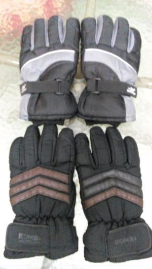 Vendo dos pares de guantes