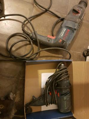 Bosch atornillador y rotomartillo