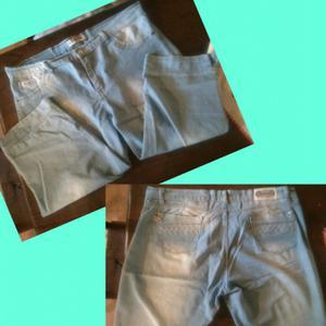 Jeans capri mujer