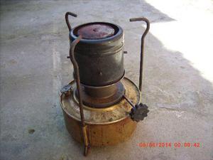 calentador bram-metal con tanque de bronce