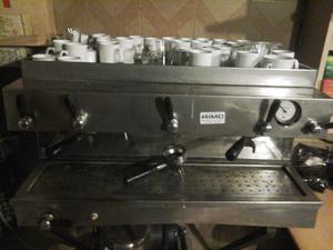Café maquina exprés de 3 canillas