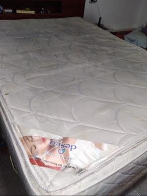 Colchón de goma espuma de 2 plazas doble pillow poco uso