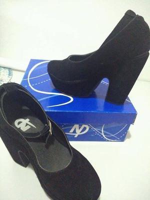 zapatos de gamuza 38