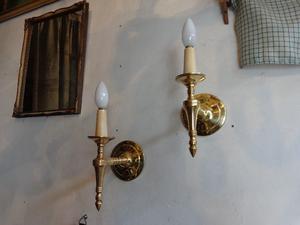 Apliques de bronce. Antigua Saudade