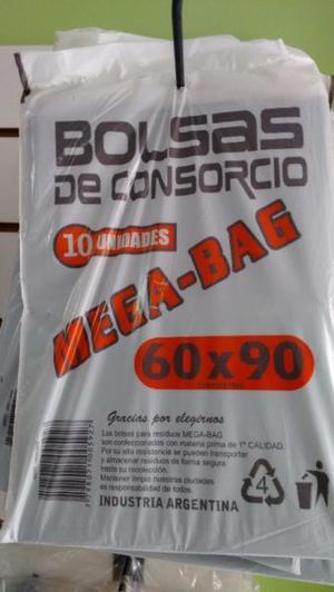 BOLSAS DE CONSORCIO 60X90 X 10 UNIDADES