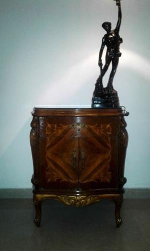 Exquisita Mesa de Luz Estilo Francés Luis XV