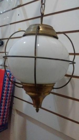Lámpara colgante bronce