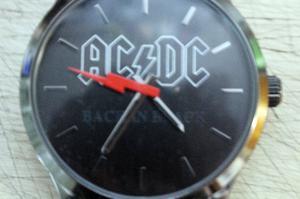 Reloj Pulsera AC/DC Back In Black de Colección