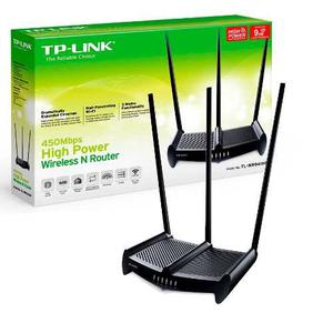 Router Tp Link Wr941hp 450 Mbps Wifi Rompemuros 9dbi