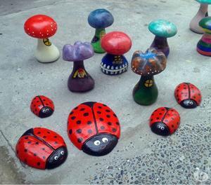 Se venden Hongos de Cemento para jardín!