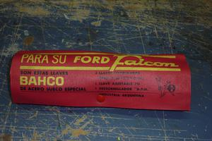 Herramientas Bahco para Ford Falcon