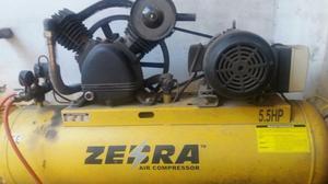 Vendo compresor de aire trifásico 5.5hp zebra $