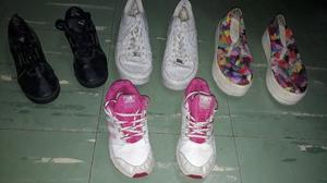 lote de zapatillas