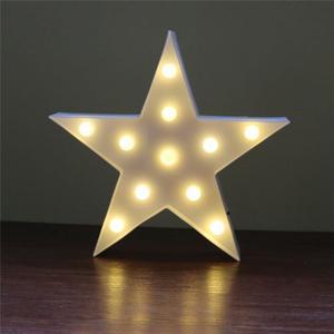 Lampara Velador Infantil Estrella Led Luz Noche Momo Once