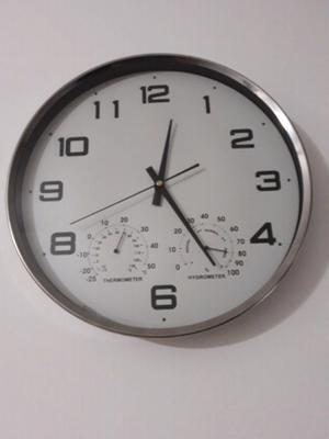 Reloj de pared 40 cm de diametro